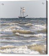 Sailin Home Acrylic Print