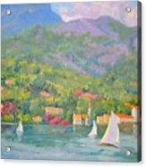 Sailing - Lake Como Acrylic Print