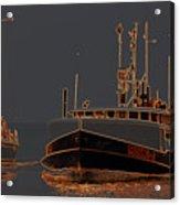 Sailing And Fishing 2 Acrylic Print