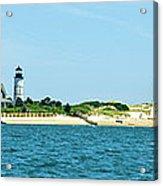 Sailing Around Barnstable Harbor Acrylic Print
