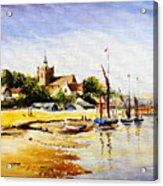 Sailing At Maldon Acrylic Print
