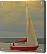 Sailing Away Acrylic Print