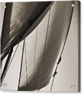 Sailing Beneteau 49 Sloop Acrylic Print