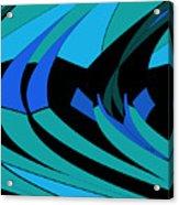 Sailing Blue - Left Acrylic Print