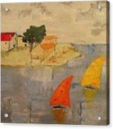 Sailing-boats Acrylic Print