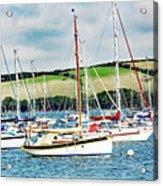 Sailing Boats Acrylic Print