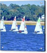 Sailing Charleston Harbor Acrylic Print