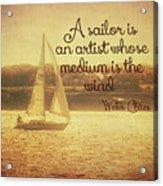 Sailing Chiles Acrylic Print