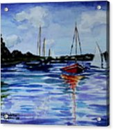Sailing Day Acrylic Print