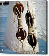 Sailing Dories 2 Acrylic Print
