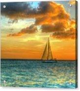 Sailing Free Acrylic Print