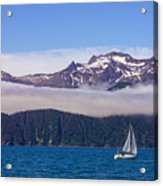 Sailing In Alaska Acrylic Print
