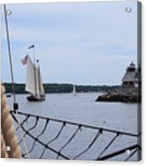 Sailing In Acrylic Print