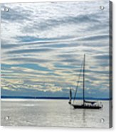 Sailing In Seattle Acrylic Print