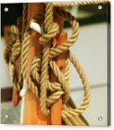 Sailing Knot Acrylic Print
