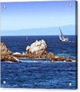 Sailing Monterey Bay Acrylic Print