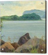 Sailing Near Croton Landing Acrylic Print