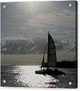Sailing North Acrylic Print