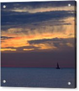 Sailing On A Paint Brush Acrylic Print