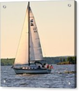 Sailing On Lake Murray Sc Acrylic Print