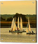 Sailing Practice Acrylic Print