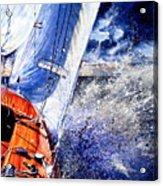 Sailing Souls Acrylic Print