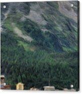 Sailing St Moritz Acrylic Print