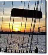 Sailing Summers Acrylic Print