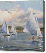 Sailing Sunday Acrylic Print
