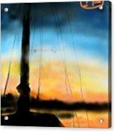Sailing The Amalfi Coast Acrylic Print