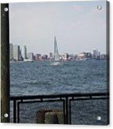 Sailing The Hudson River 1 Acrylic Print