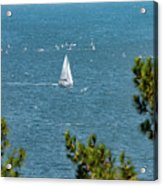 Sailing The Sea Of Marmara Acrylic Print