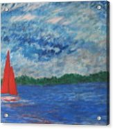 Sailing The Wind Acrylic Print