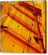 Sailing Through Gold Acrylic Print