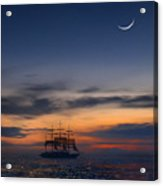Sailing To The Moon 2 Acrylic Print by Mike McGlothlen