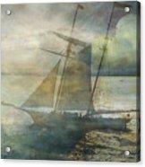 Sailing To The Moon Acrylic Print