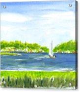 Sailing Wexford Acrylic Print