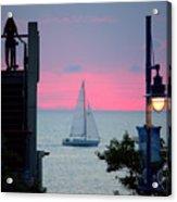 Sailors De Light  Acrylic Print