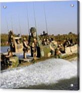 Sailors Racing Along The Euphrates Acrylic Print