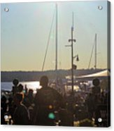 Sails And Sunsets Acrylic Print