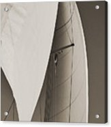Sails Acrylic Print by Dustin K Ryan