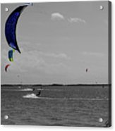 Sails In Color Acrylic Print