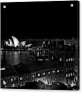 Sails In The Night Acrylic Print