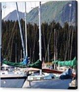 Sails Of Seldovia Acrylic Print