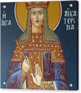 Saint Aekaterina Acrylic Print