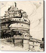 Saint Angel Castle Acrylic Print