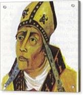 Saint Augustin Hippone Acrylic Print