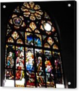 Saint Augustine Stained Glass Acrylic Print