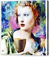 Saint Cecilia Risen Acrylic Print