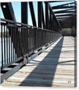 Saint Charles Walking Bridge Acrylic Print